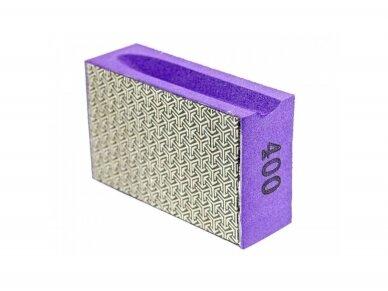 Deimantinė šlifavimo kempinė SENDI #50 - 400 5