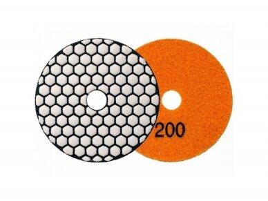 Poliravimo diskas SENDI Ø100MM #50 - 400 4