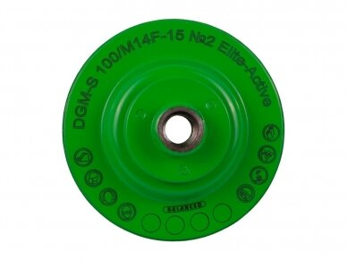 100MM DISTAR DGM-S ELITE ACTIVE Šlifavimo diskas su flanšu 2