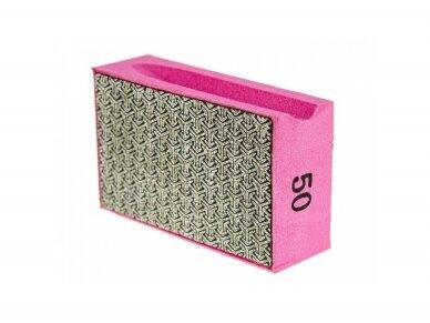 Deimantinė šlifavimo kempinė SENDI #50 - 400 2
