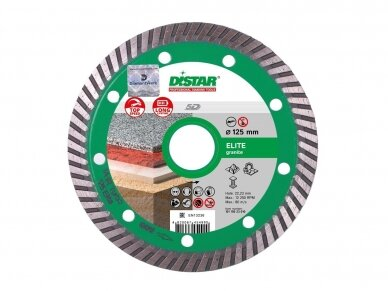 115MM DISTAR TURBO ELITE 5D Deimantinis diskas granitui