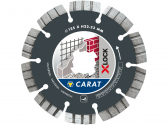 125MM CARAT UNIVERSAL X-LOCK Pjovimo diskas