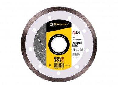 125MM BAUMESSER KERAMIK Deimantinis diskas keramikai