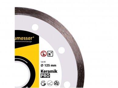 125MM BAUMESSER KERAMIK Deimantinis diskas keramikai 2