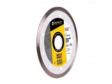 125MM BAUMESSER KERAMIK Deimantinis diskas keramikai 3