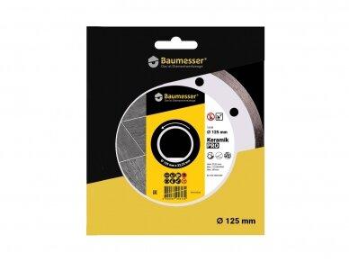 125MM BAUMESSER KERAMIK Deimantinis diskas keramikai 4