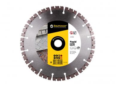 125MM BAUMESSER RAPID PRO Deimantinis pjovimo diskas