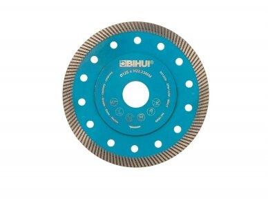 125MM BIHUI SUPER THIN TURBO Deimantinis diskas plytelėms