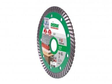 125MM DISTAR TURBO ELITE 5D Deimantinis diskas granitui 4