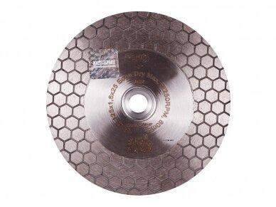 125MM DISTAR EDGE DRY Deimantinis diskas plytelėms SU FLANŠU