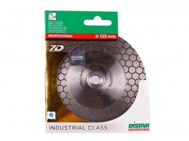 125MM DISTAR EDGE DRY Deimantinis diskas plytelėms SU FLANŠU 4