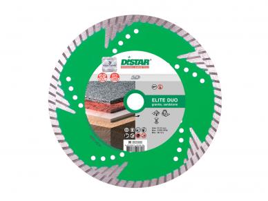 125MM DISTAR TURBO ELITE DUO Deimantinis diskas pjovimui ir šlifavimui