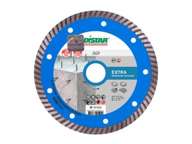125MM DISTAR TURBO EXTRA MAX Deimantinis diskas betonui, gelžbetoniui