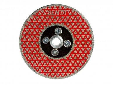 125MM SENDI MULTI Šlifavimo diskas