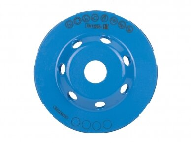 100MM DISTAR EXTRA MAX Betono šlifavimo diskas 3