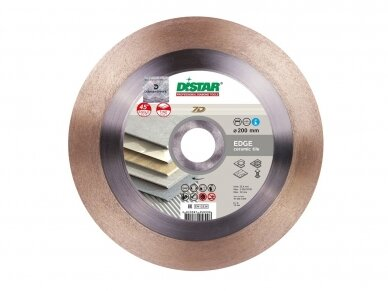 230 MM DISTAR 1A1R EDGE Deimantinis pjovimo diskas