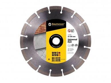 230MM BAUMESSER UNIVERSAL UNI Deimantinis diskas
