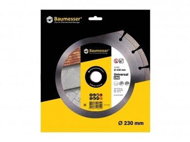 230MM BAUMESSER UNIVERSAL UNI Deimantinis diskas 4