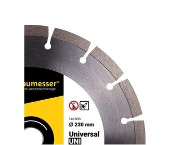 230MM BAUMESSER UNIVERSAL UNI Deimantinis diskas 3