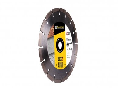 230MM BAUMESSER UNIVERSAL UNI Deimantinis diskas 2