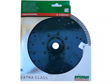 230MM DISTAR GABBRO MAX Akmens pjovimo diskas su flanšu 4
