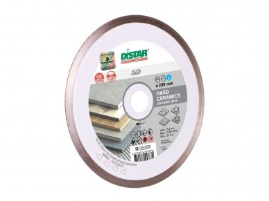 230MM DISTAR HARD CERAMICS deimantinis diskas plytelėms 3