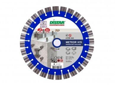 230MM DISTAR METEOR H15 Deimantinis diskas gelžbetoniui, hidrotechniniam betonui