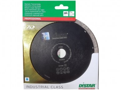 250MM DISTAR HARD CERAMICS ADVANCED SILENT Deimantinis pjovimo diskas 3