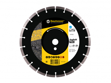 300MM BAUMESSER ASPHALT PRO Deimantinis diskas asfaltui