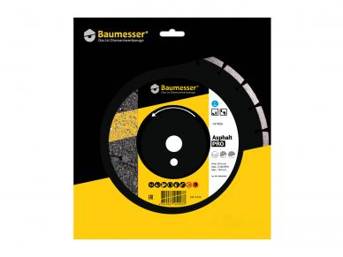 300MM BAUMESSER ASPHALT PRO Deimantinis diskas asfaltui 4