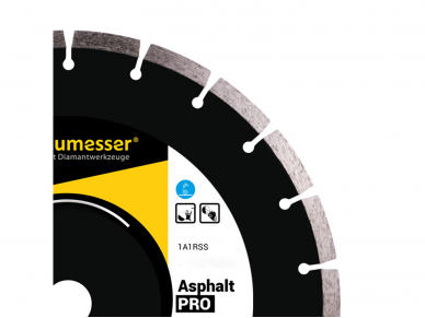 300MM BAUMESSER ASPHALT PRO Deimantinis diskas asfaltui 3