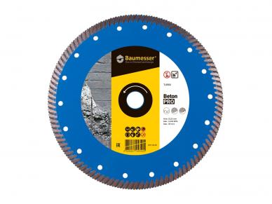 125MM BAUMESSER BETON PRO Deimantinis diskas betonui