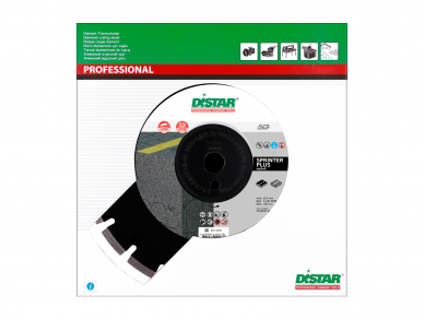 300MM DISTAR SPRINTER PLIUS Deimantinis diskas asfaltui 3
