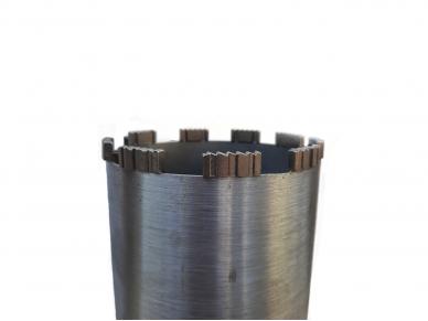 32 - 600 mm Turbo Wave deimantinė karūna betonui 3