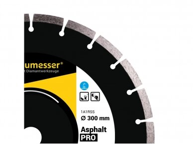 350MM BAUMESSER ASPHALT PRO Deimantinis diskas asfaltui 3