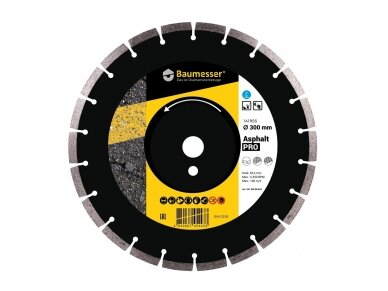 400MM BAUMESSER ASPHALT PRO Deimantinis diskas asfaltui