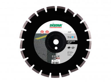 400MM DISTAR SPRINTER PLIUS Deimantinis diskas asfaltui