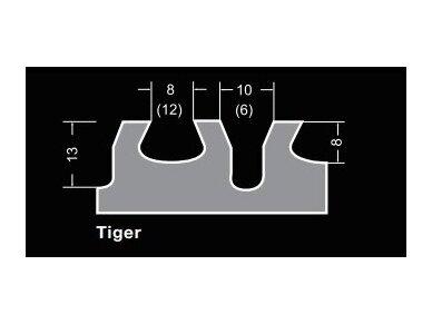 480x130 Pakaitinė dantytos glaistyklės dalis BIHUI TIGER 2