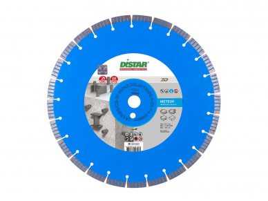 500MM DISTAR METEOR Deimantinis diskas betonui