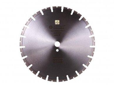 600MM ADTNS CLG RS-Z Deimantinis pjovimo diskas armuotam betonui