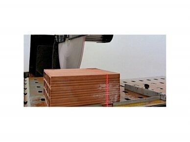 Plytų ir blokelių pjovimo stalas CARAT P-7010 LASER 4