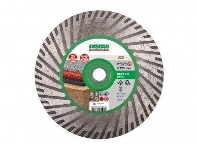 125MM DISTAR TURBO DUPLEX GRANITE Akmens pjovimo ir šlifavimo diskas su flanšu (M14)