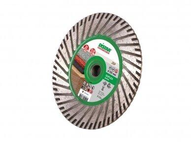 125MM DISTAR TURBO DUPLEX GRANITE Akmens pjovimo ir šlifavimo diskas su flanšu (M14) 2