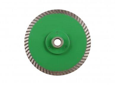 125MM DISTAR TURBO DUPLEX GRANITE Akmens pjovimo ir šlifavimo diskas su flanšu (M14) 3
