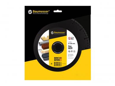 230MM BAUMESSER PRO REX Universalus pjovimo diskas 3