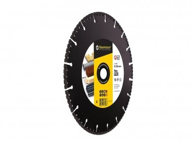 230MM BAUMESSER PRO REX Universalus pjovimo diskas 2