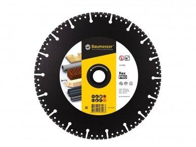 350MM BAUMESSER PRO REX Universalus pjovimo diskas