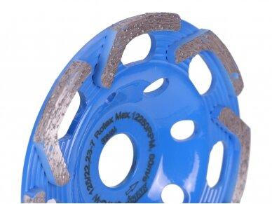125MM DISTAR ROTEX Betono šlifavimo diskas 4