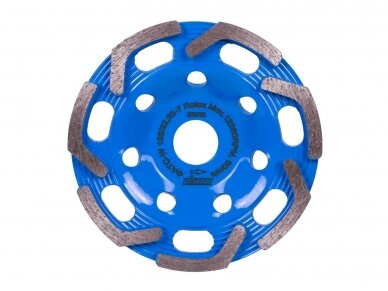 125MM DISTAR ROTEX Betono šlifavimo diskas