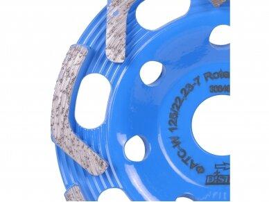 125MM DISTAR ROTEX Betono šlifavimo diskas 3